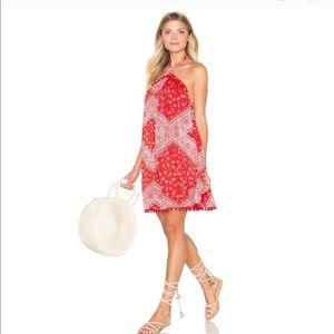 Tularosa Holden Bandana Mini Dress Medium NWT
